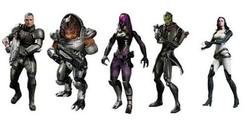 Фигурки Mass Effect 3